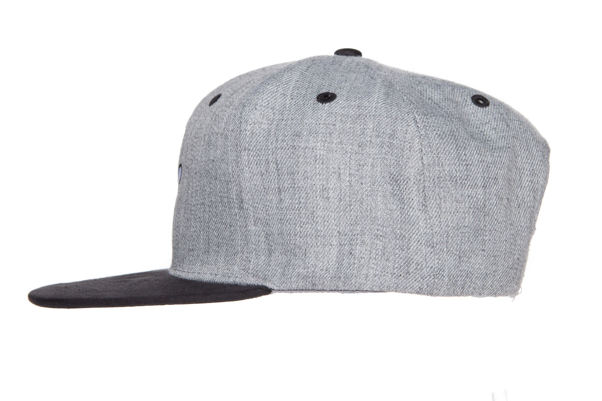 RaceKraft Suede Cartoon Glove Snapback (Light Grey)
