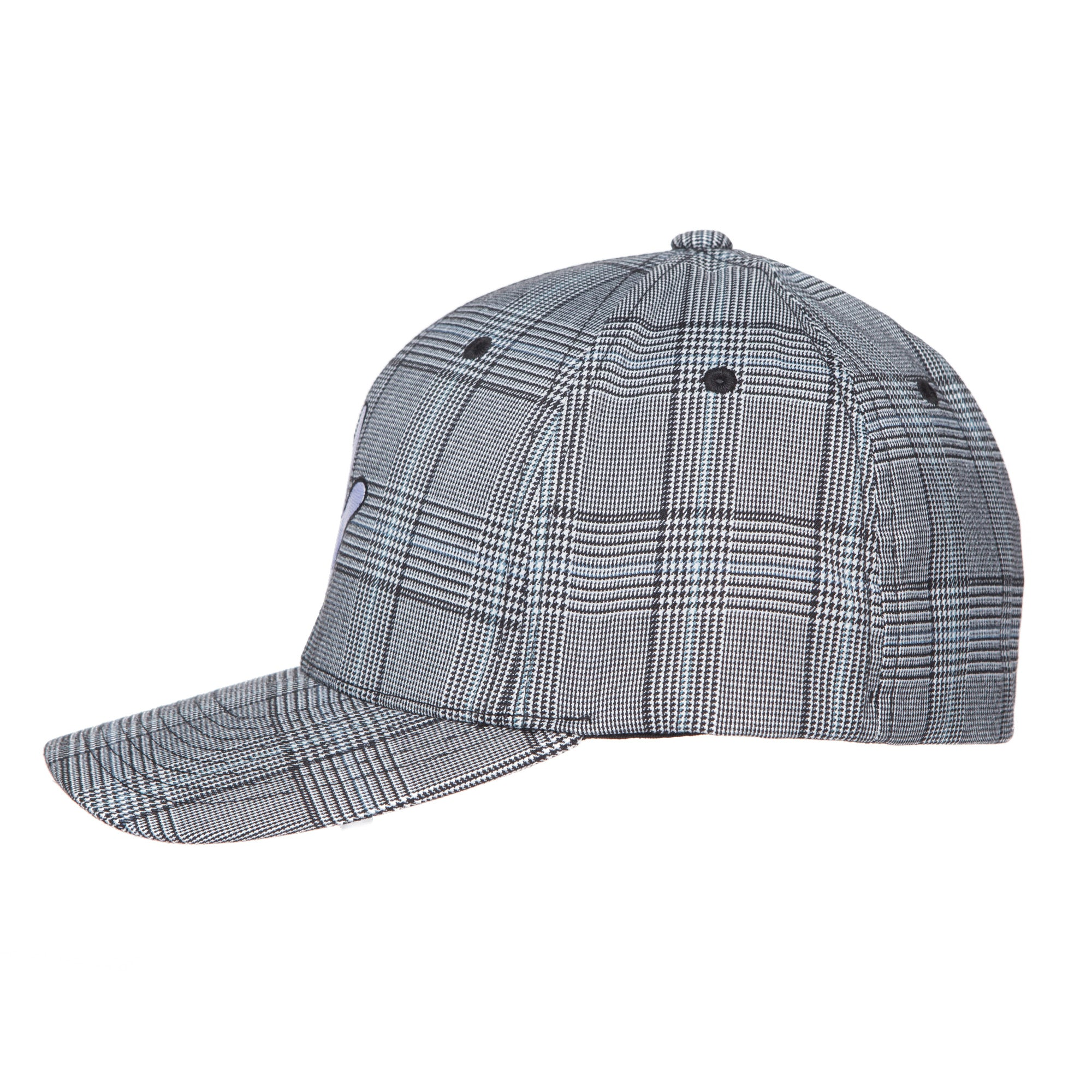 "Flexfit Grey Glen Check RaceKraft ""Glove"" SnapBack Hat"