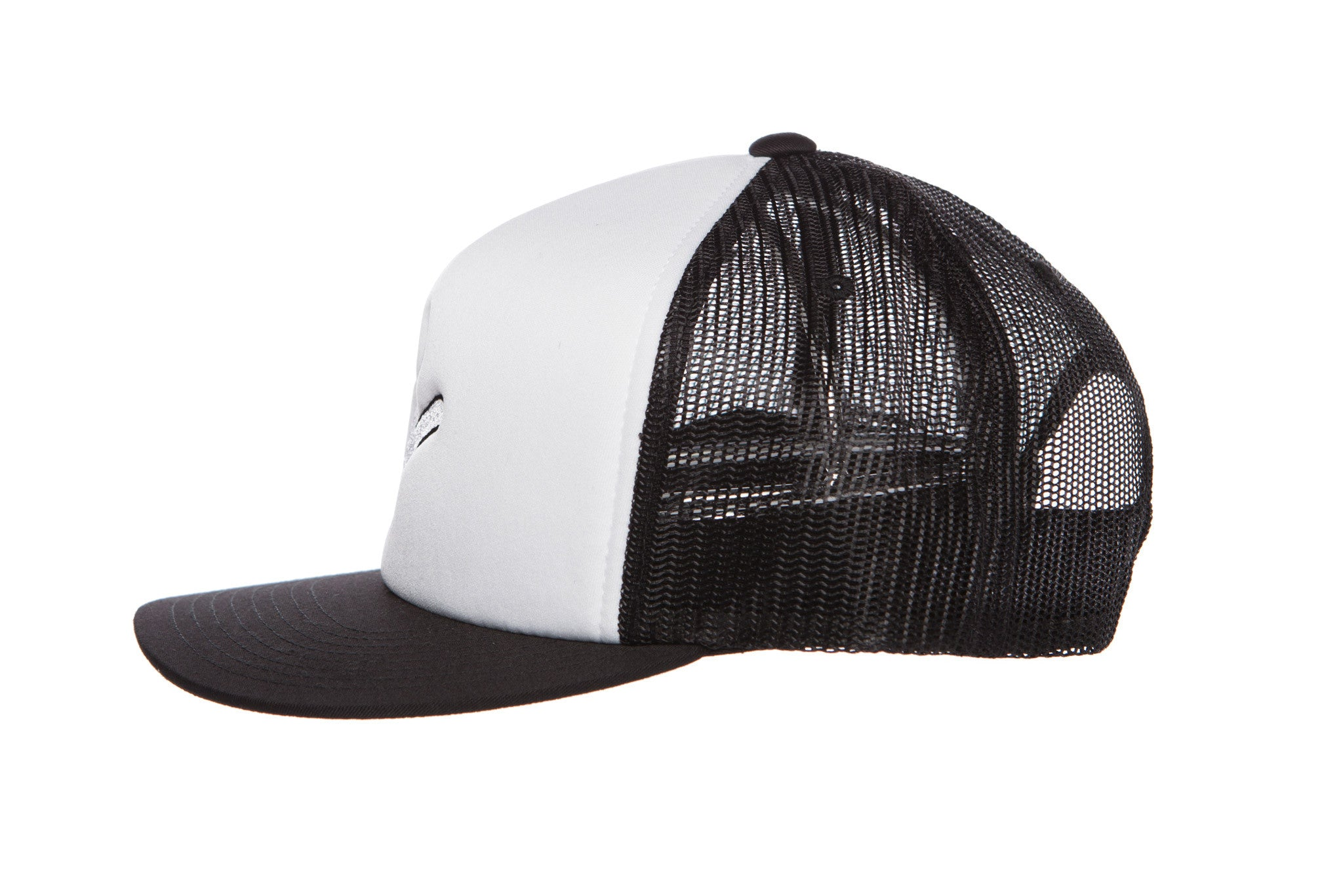 RaceKraft Trucker Cap (Black/White)