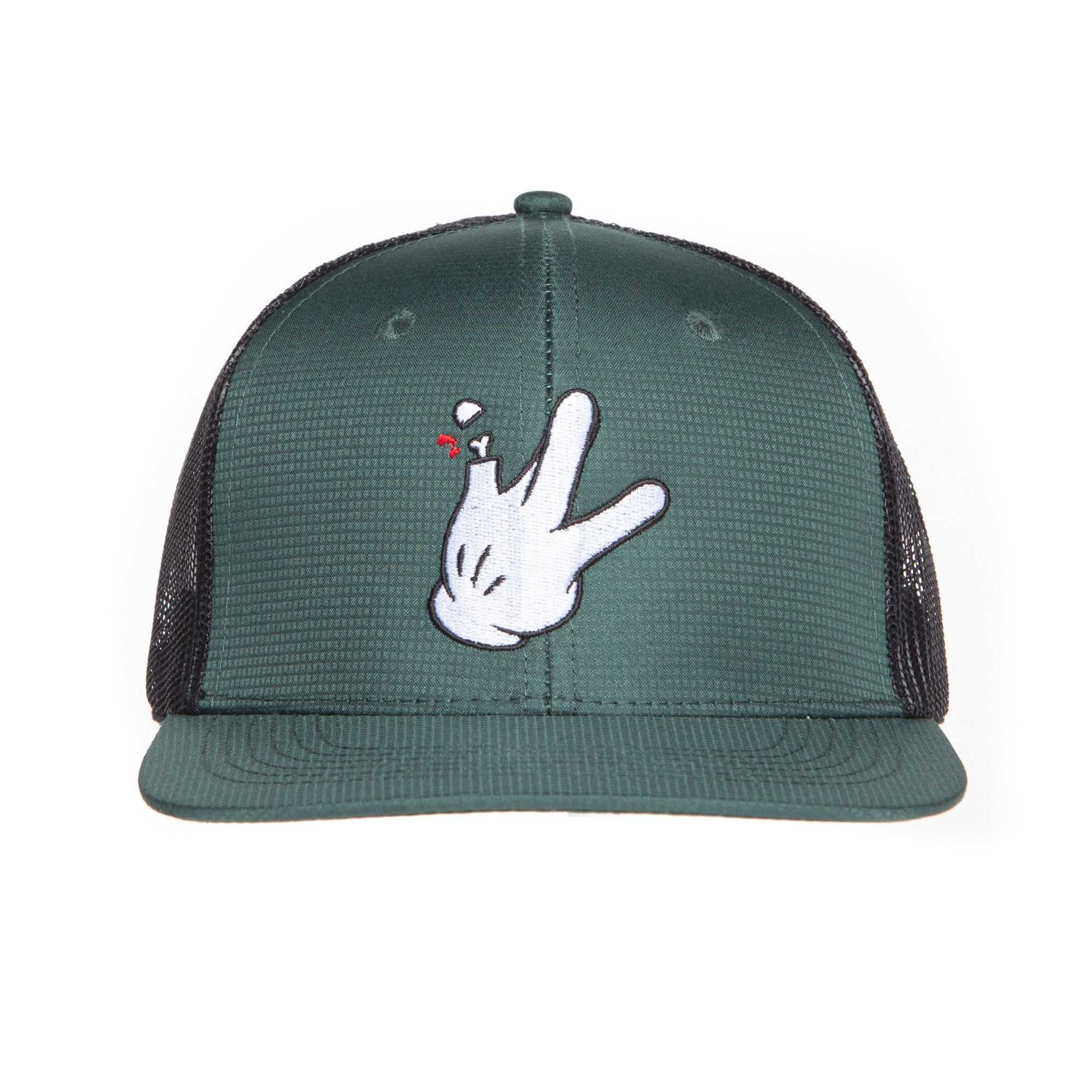 "Green Windbreaker RaceKraft ""Glove"" Trucker Hat"