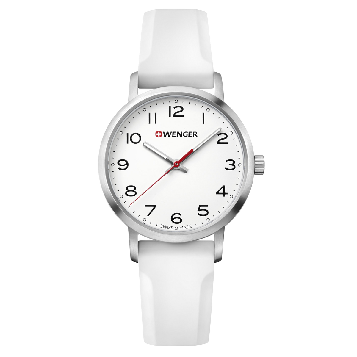Wenger Avenue 35mm - White Dial