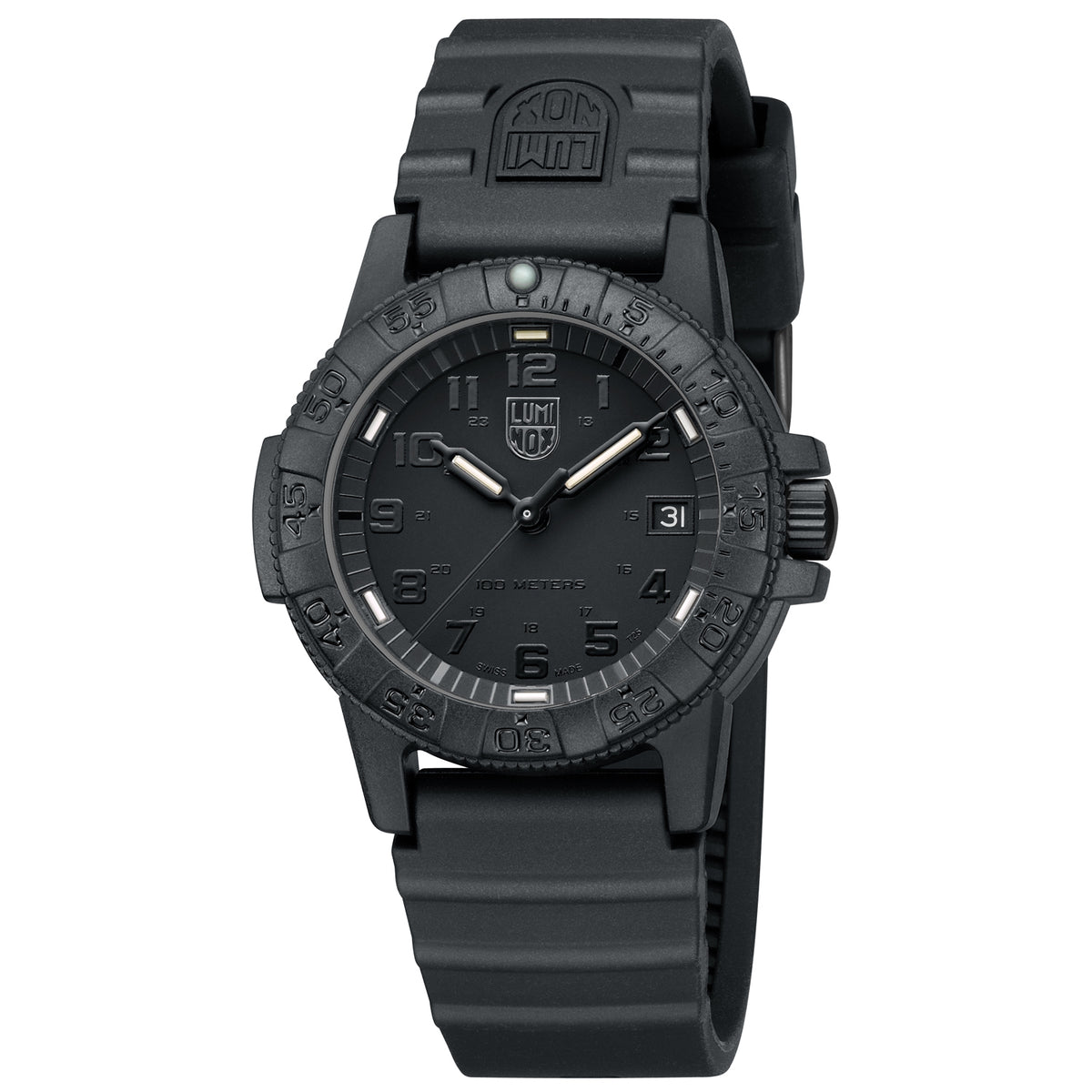 "Luminox Navy Seal Watch - 0300 Series Sea Turtle ""Black Out"""