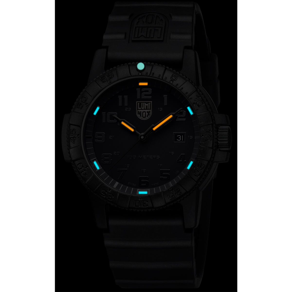 "Luminox Navy Seal Watch - Giant Sea Turtle 0320 Series ""Black out"""