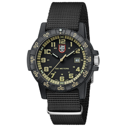 Luminox Navy Seal Watch - Giant Sea Turtle 0320 Series - Black/Beige