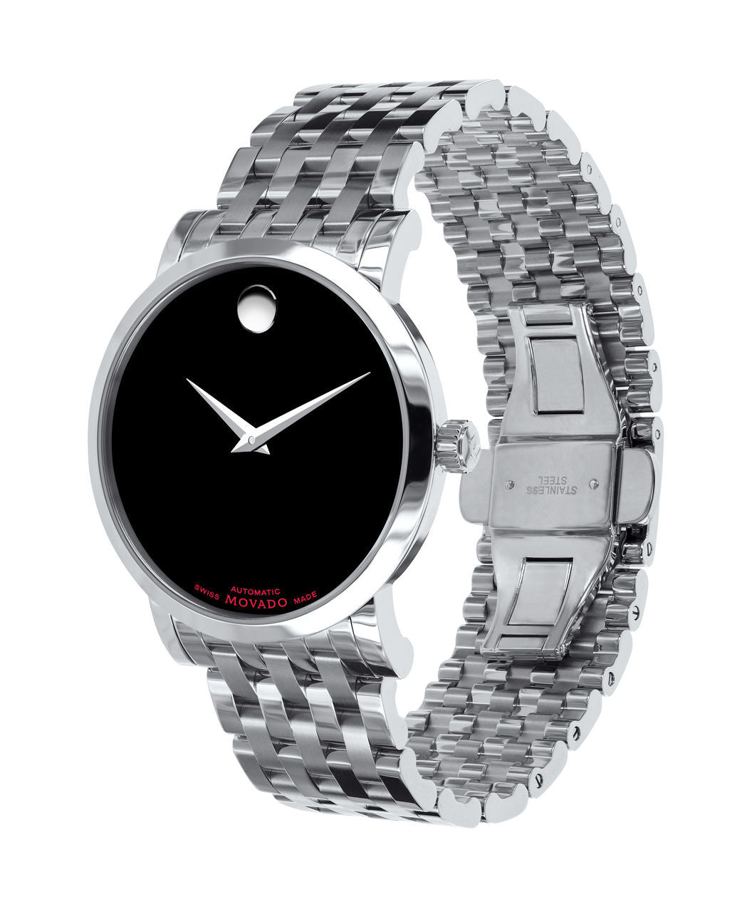 Movado Red Label - Stainless Steel Automatic