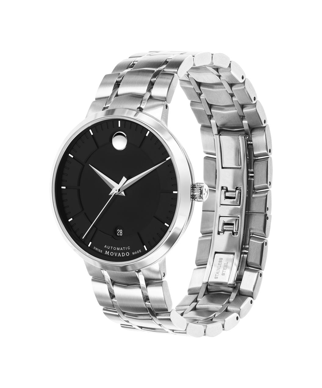 Mens Movado 1881 Automatic - Stainless Steel