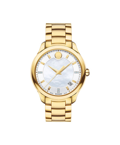Ladies Movado Bellina - Gold Tone