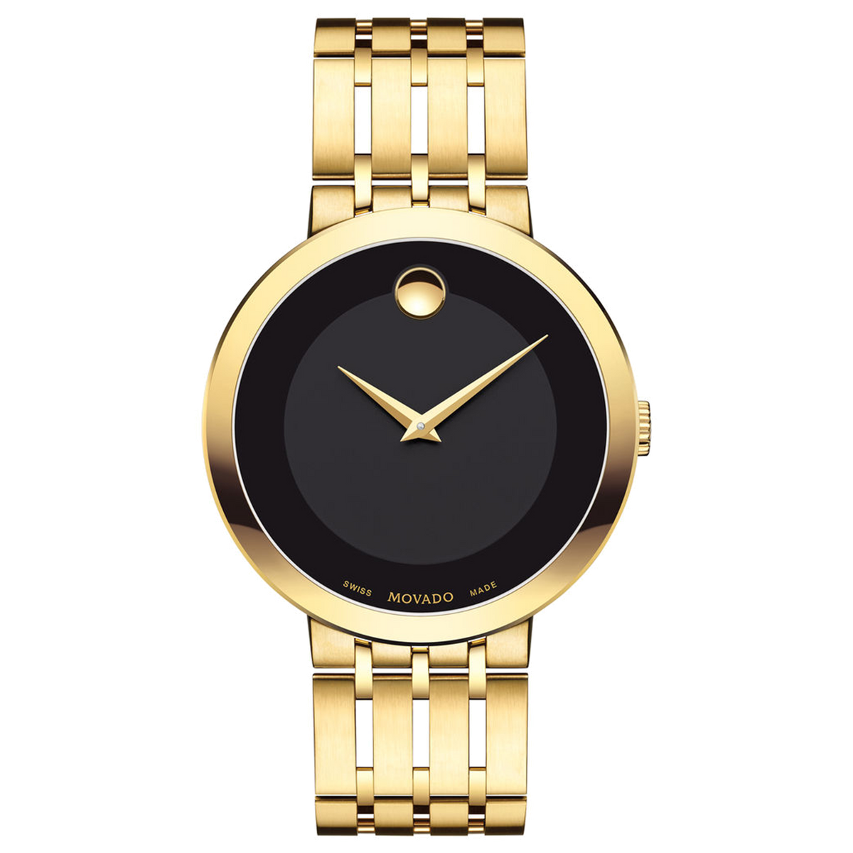 Movado Watch Esperanza Collection - 39mm Gold PVD