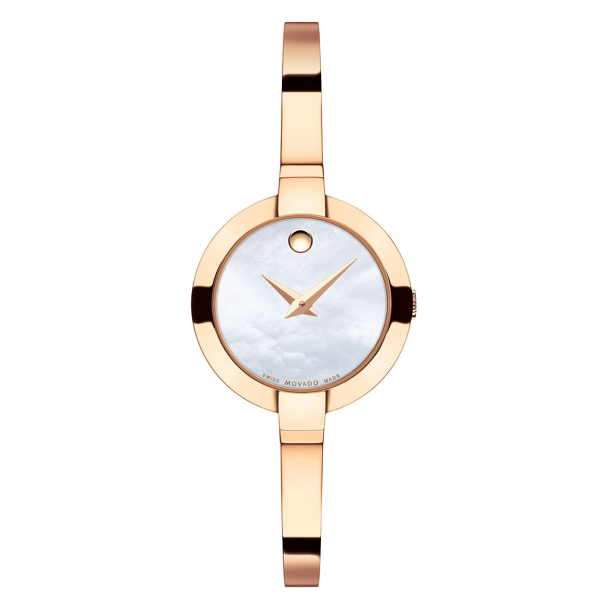 Ladies Movado Bela - Rose Gold Tone with MOP