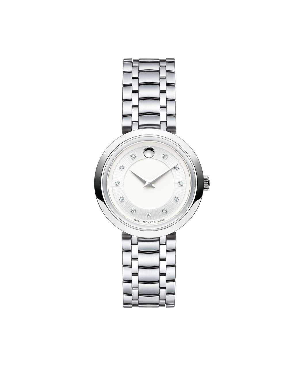 Ladies Movado 1881 Quartz - Stainless Steel with Diamond Markers