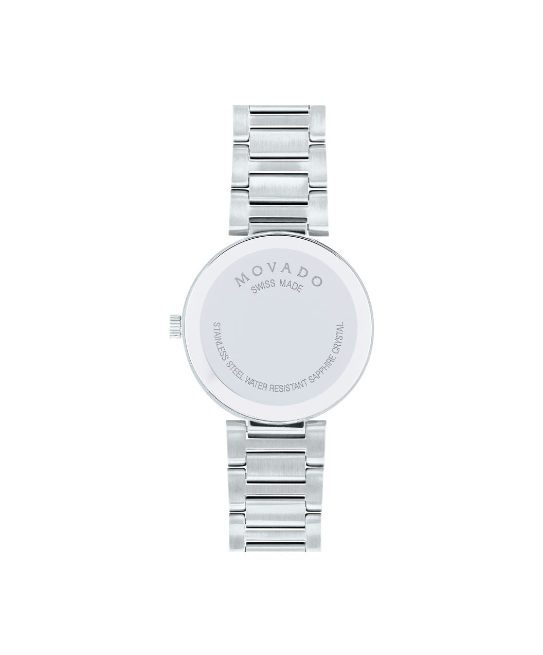 Movado Ladies Modern Classic - Two Tone with Black Dial