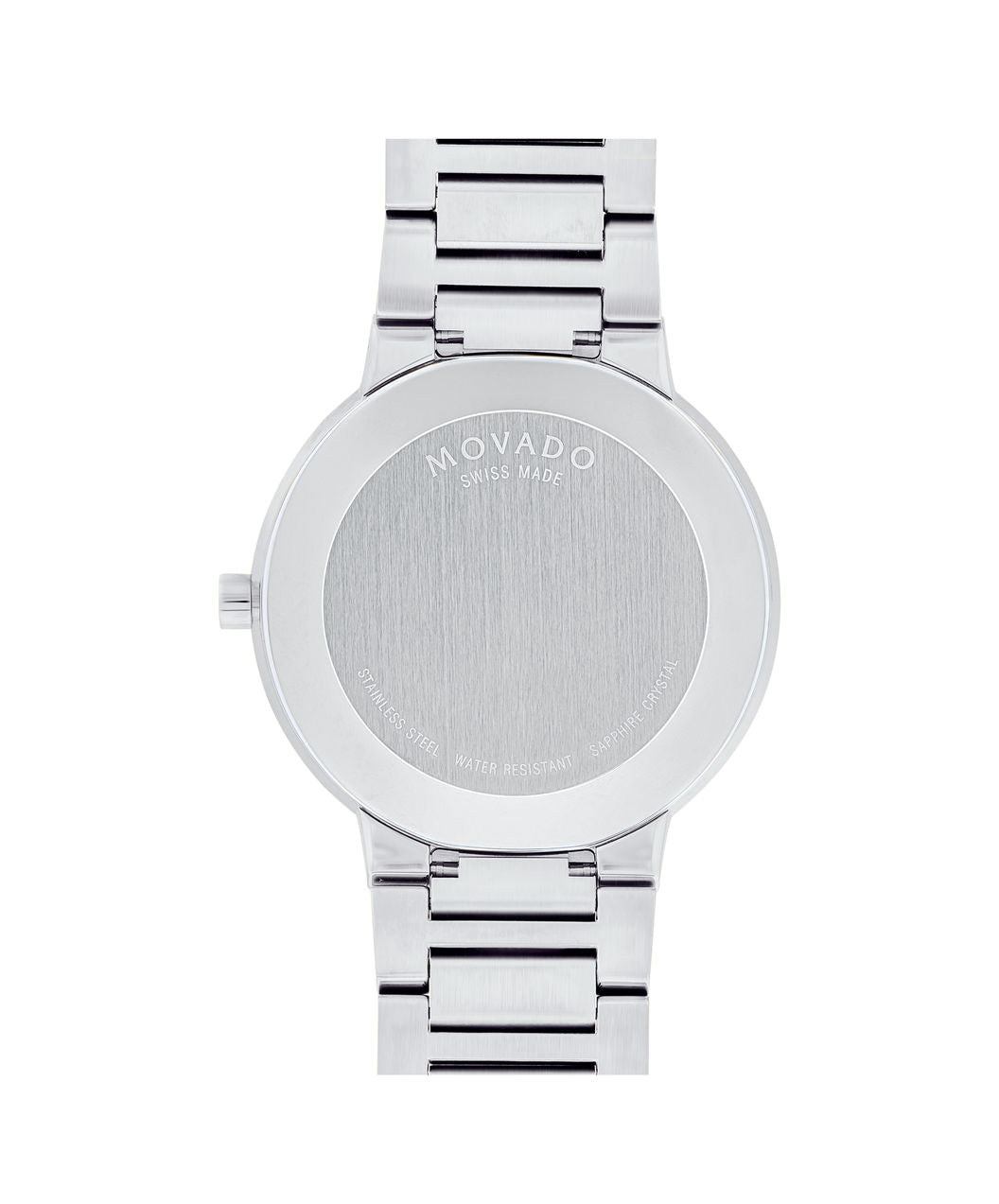 Movado Watch Modern Classic - 39mm Stainless Steel with Black Dial