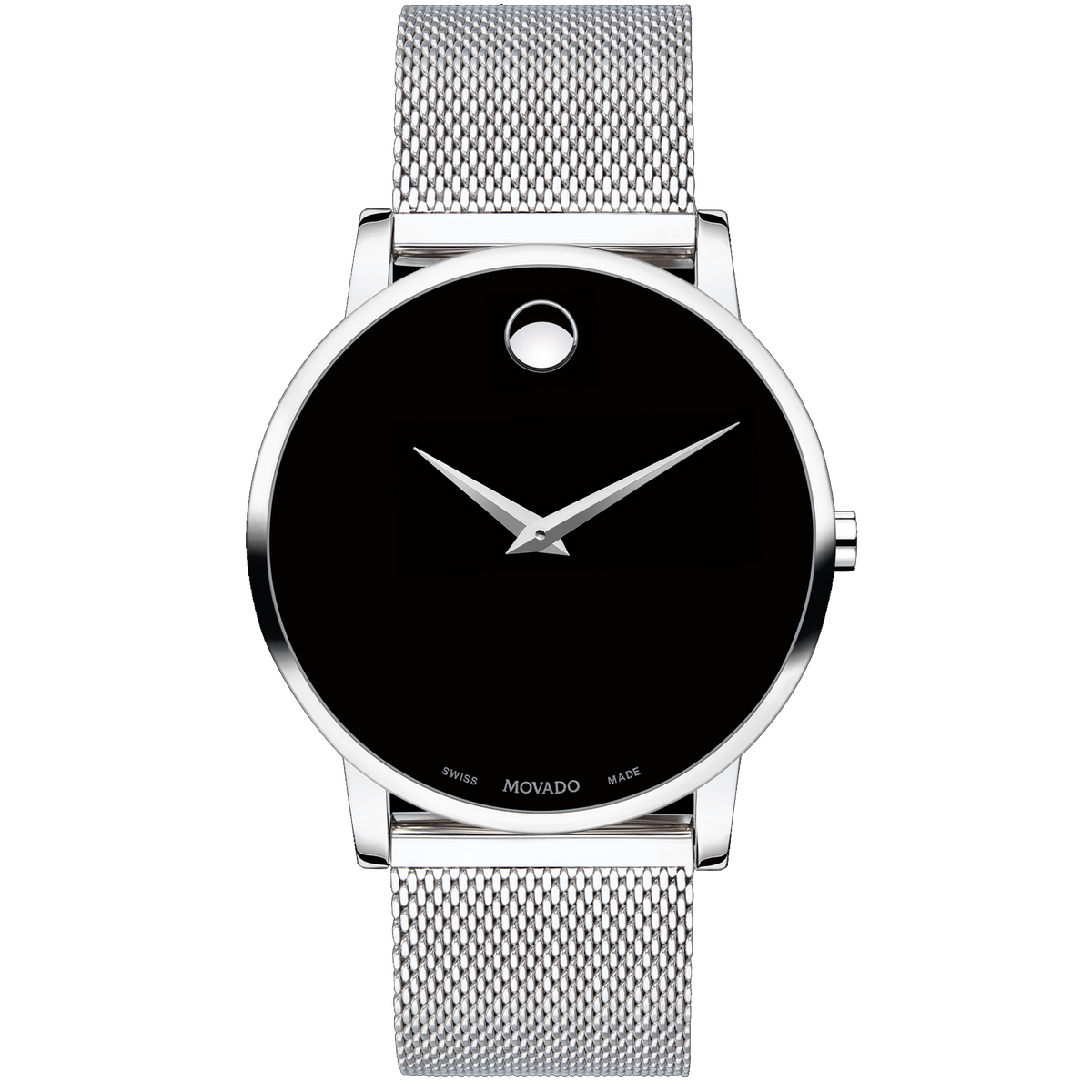 Movado Watch - Classic 40mm Museum Black Dial