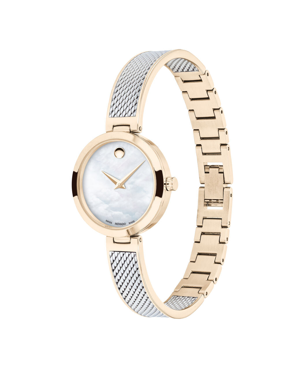 Ladies Movado Amika - Two Tone with Rose Gold