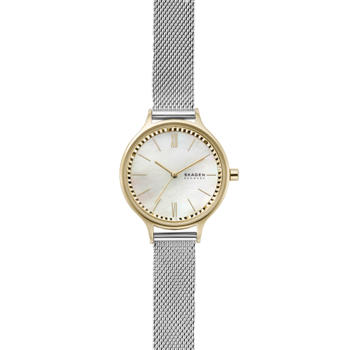 Skagen Watch Anita - Two Tone with MOP Dial