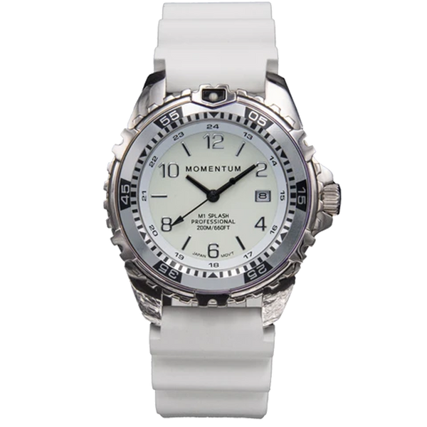 Momentum M1 Splash - White Dial with White Rubber