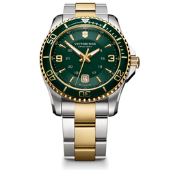 Victorinox Watch - Maverick Large with Two Tone with Green Dial