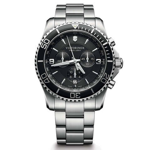Victorinox Watch - Maverick Chronograph in Black