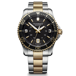 Victorinox Watch - Maverick Large Two Tone with Black Dial