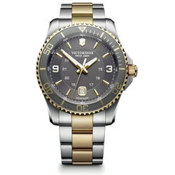 Victorinox Watch - Maverick Large Two Tone with Gray Dial