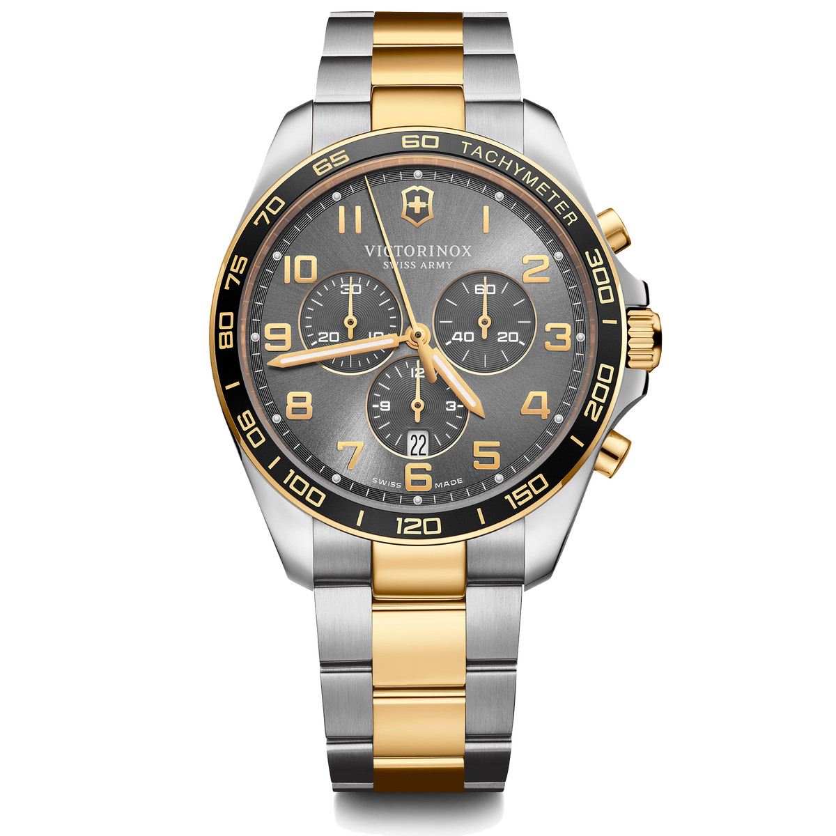 Victorinox Watch - Fieldforce Classic Chrono Two Tone