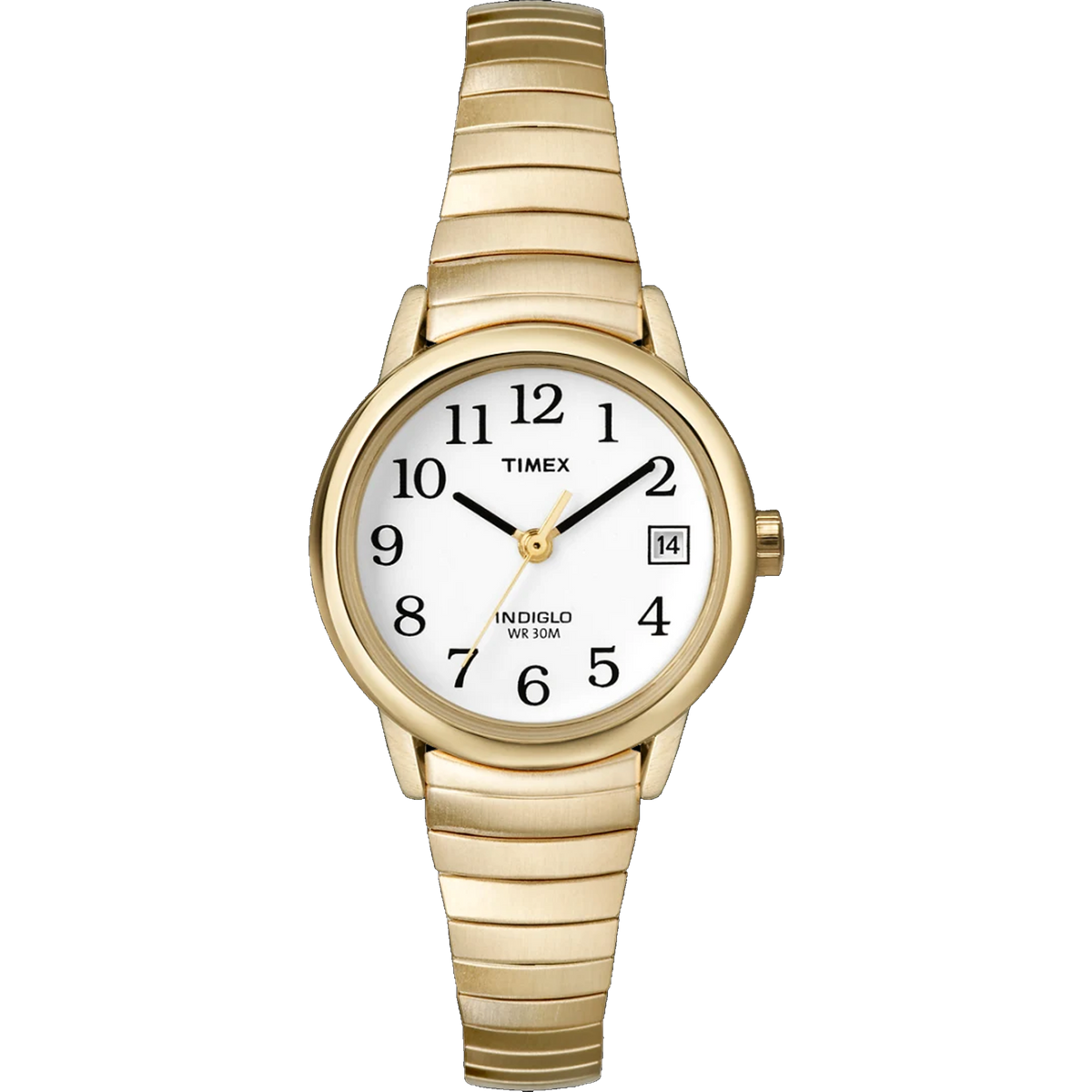 Timex - 25mm Easy Reader Expansion Gold Tone