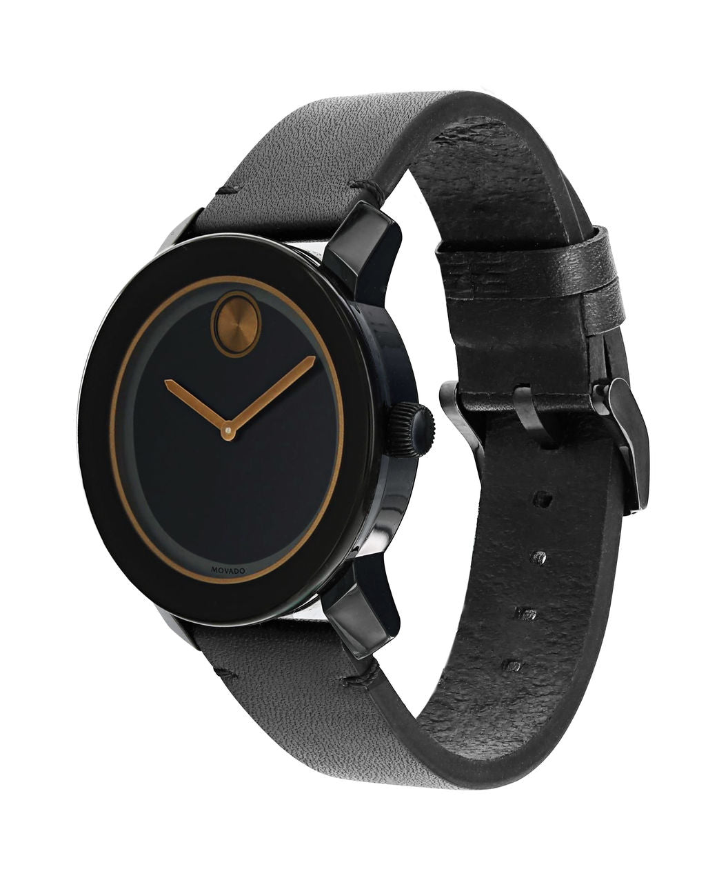 Movado Bold - Black TR90 with Brown Accent