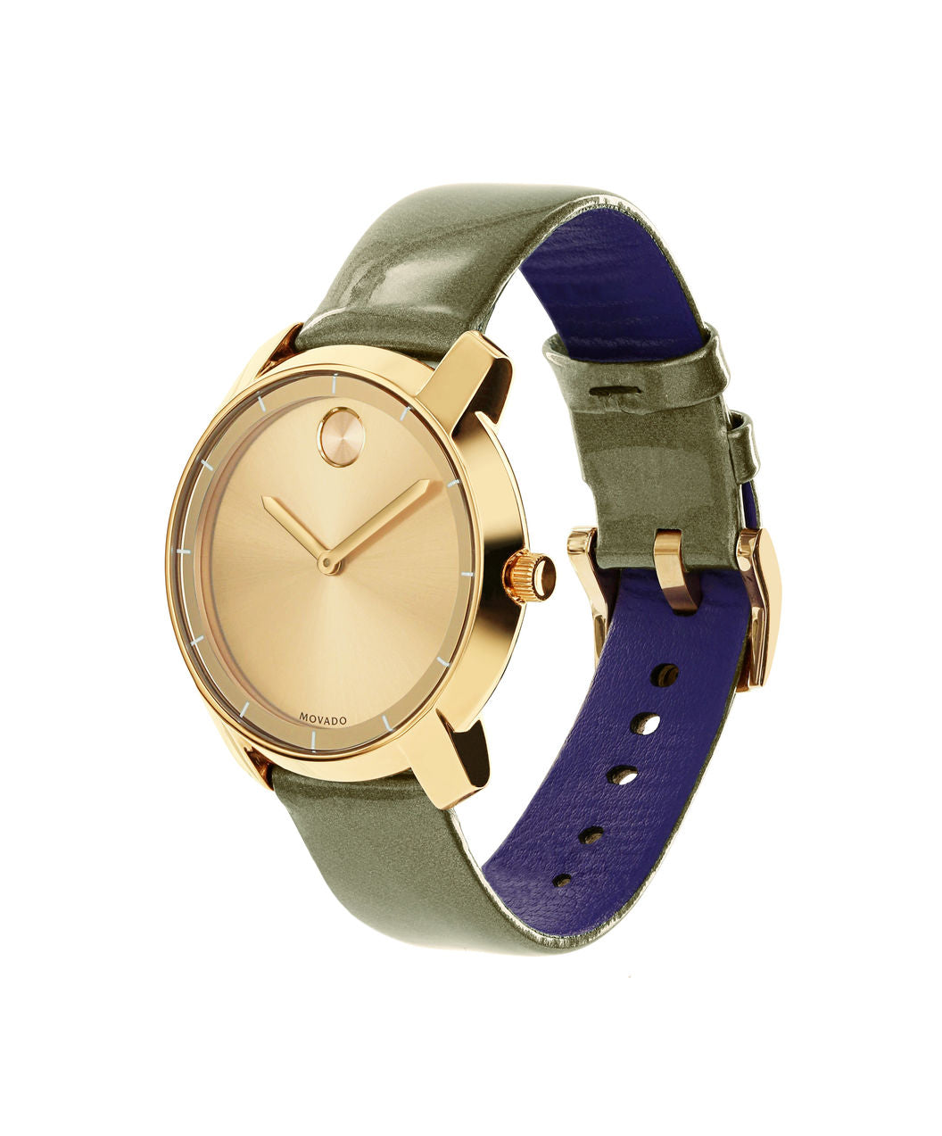 Movado Bold - Gold Tone 36mm Flat