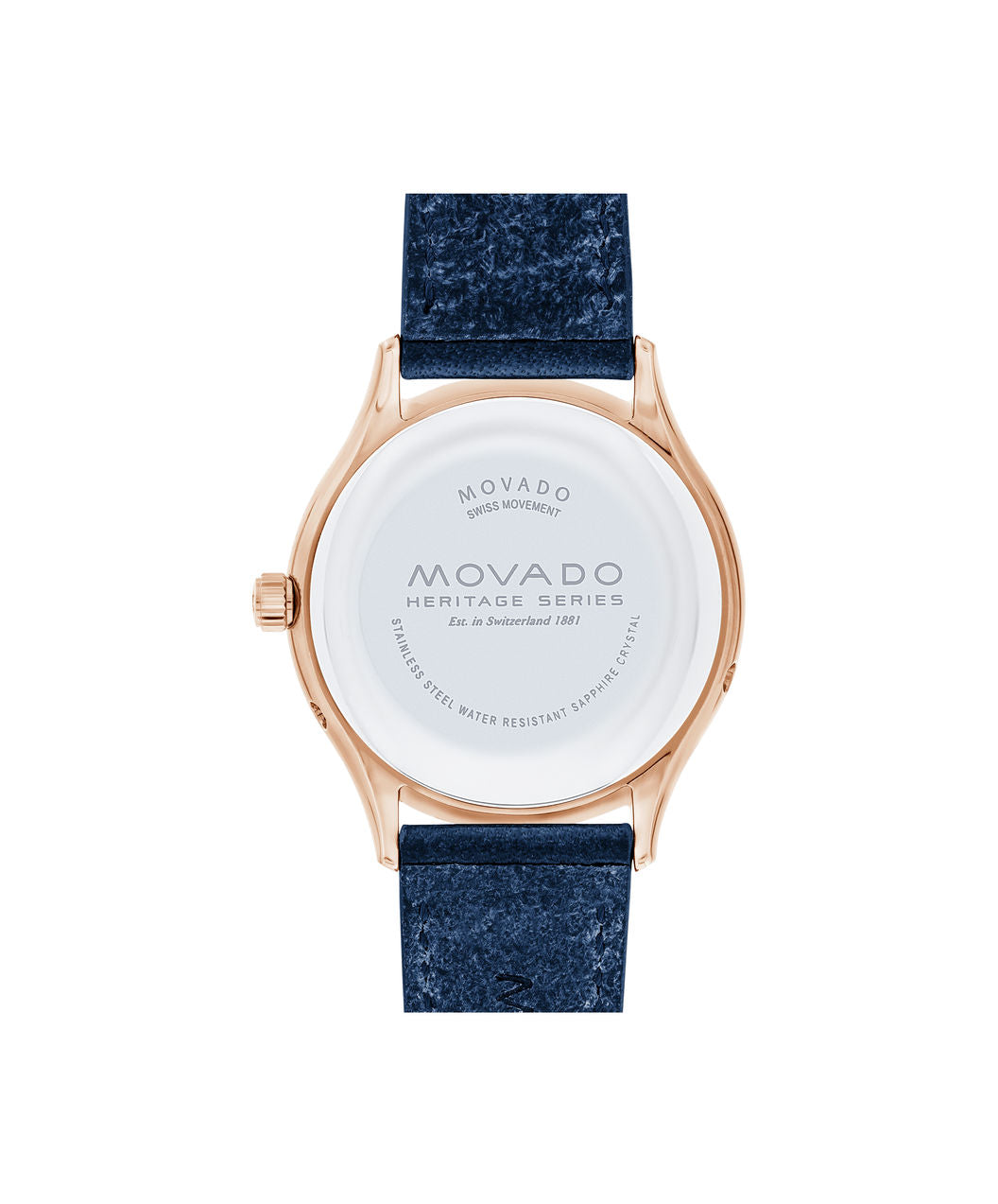 Movado Watch Heritage Series - Celestograf in Rose Gold
