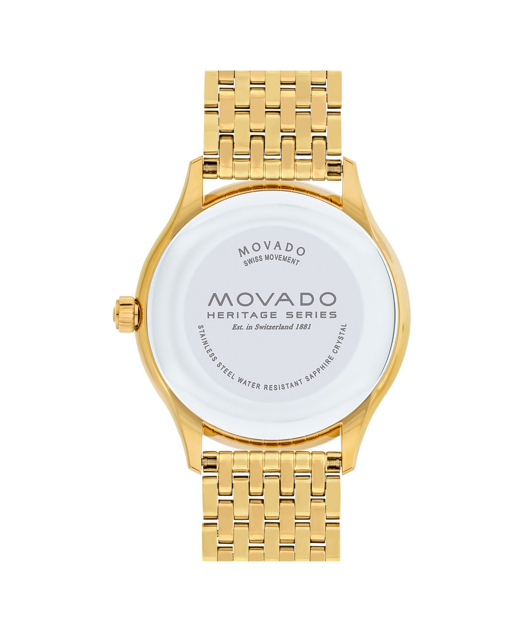 Movado Watch Heritage Series - Calendoplan Gold Tone on Bracelet