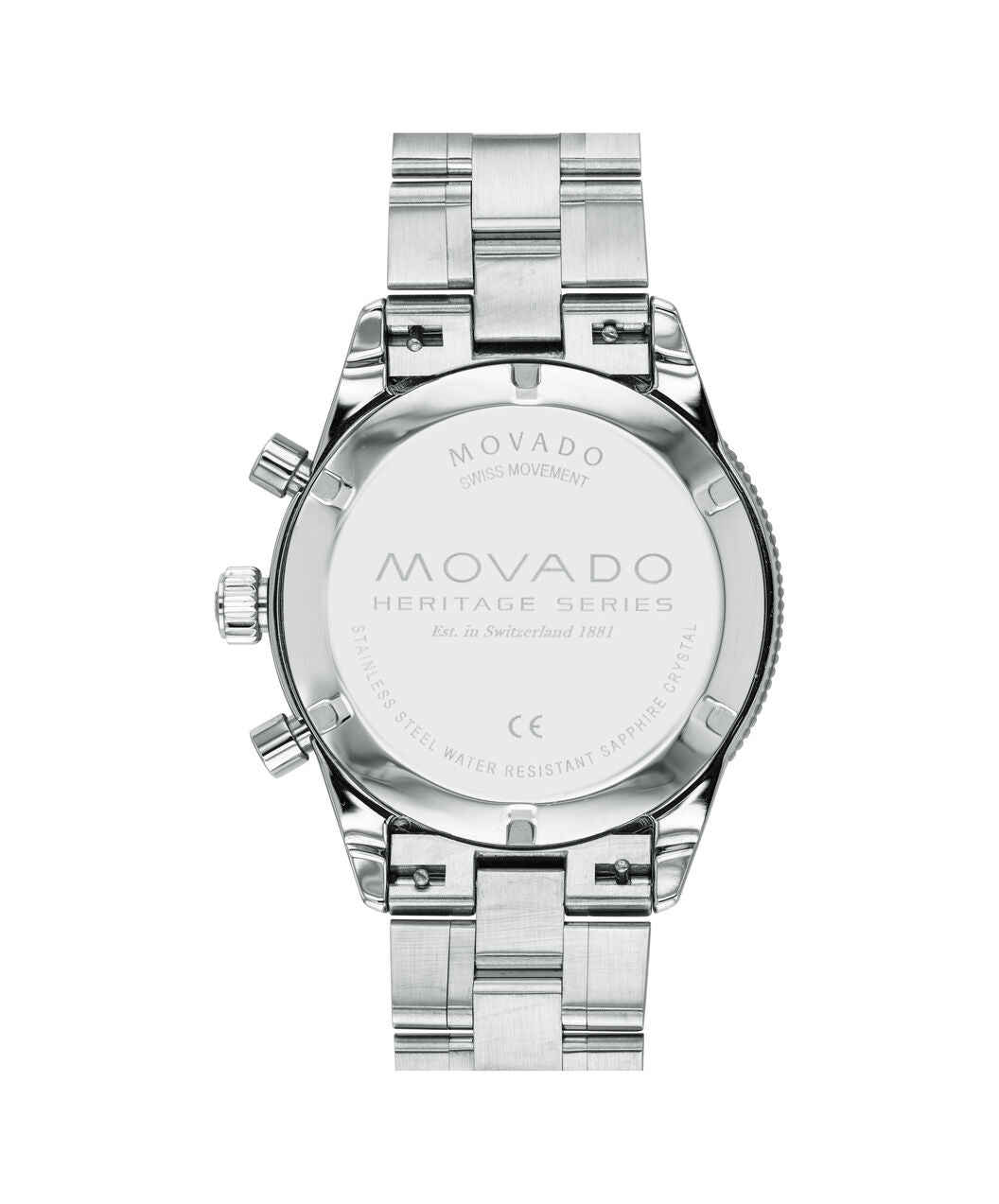 Movado Watch Heritage Series - 42mm Calendoplan S Chronograph