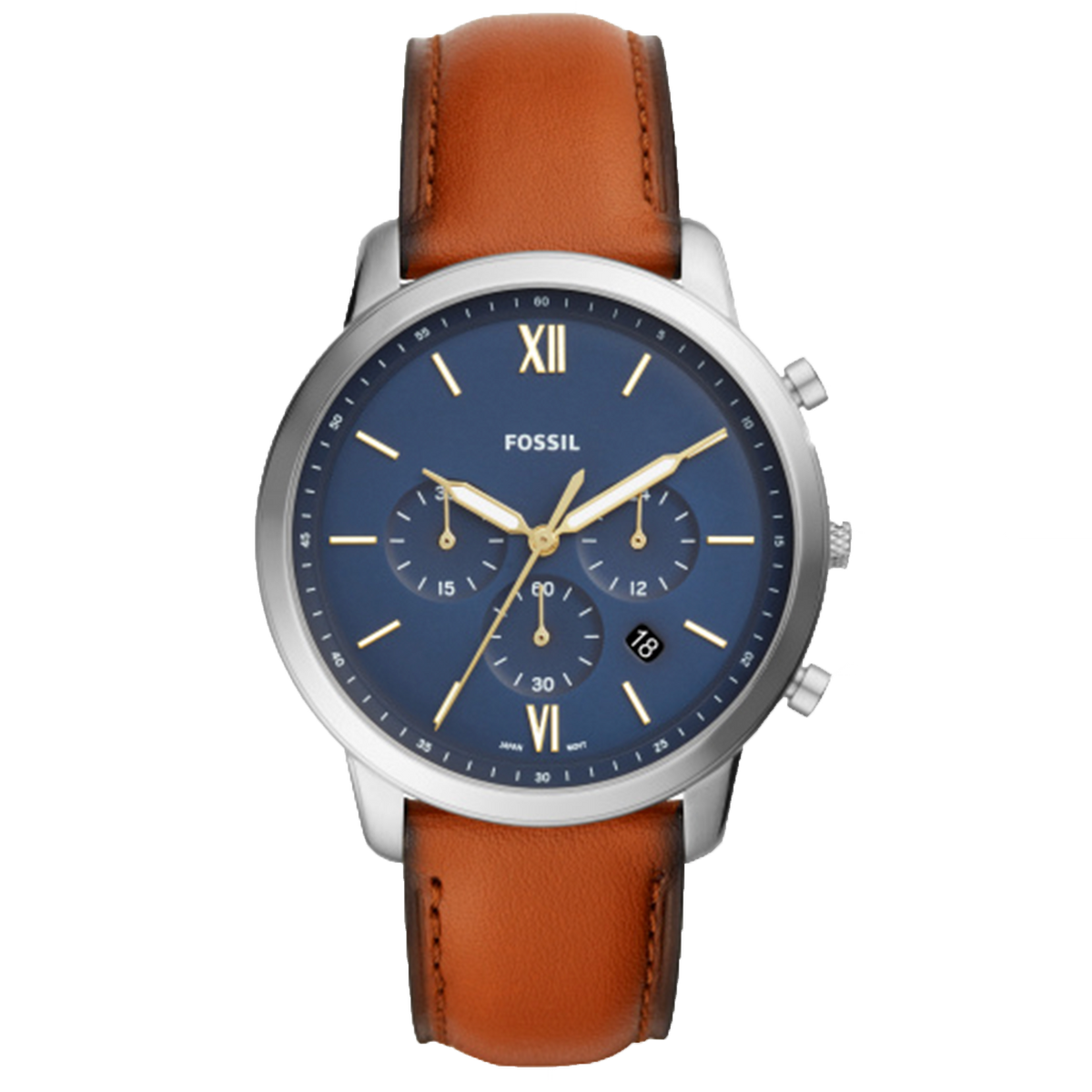 Fossil Watch Neutra Chrono - Stainless Steel