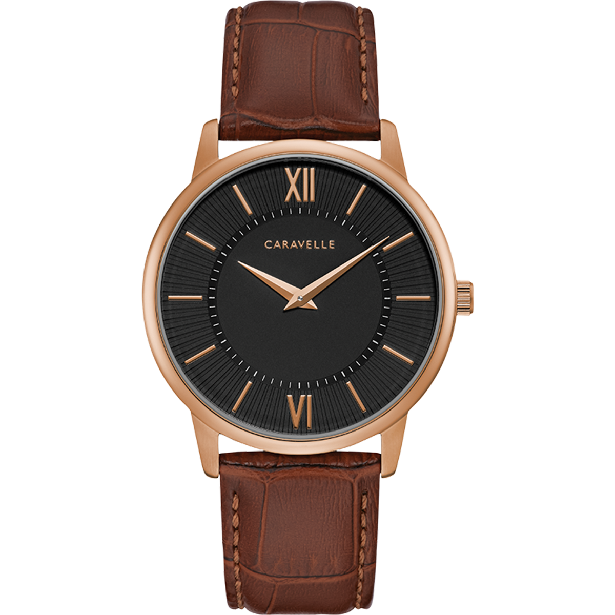Caravelle Watch - Rose Gold Tone