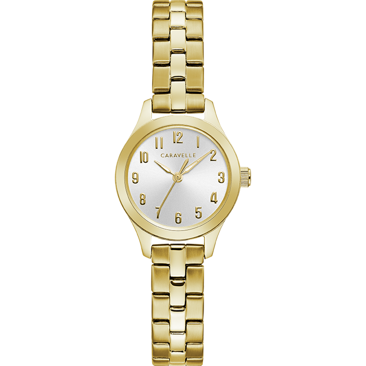 Caravelle Watch - Dress Collection - Gold Tone