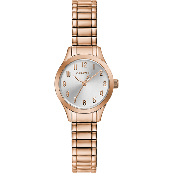 Caravelle Watch - Rose Gold Tone Expansion