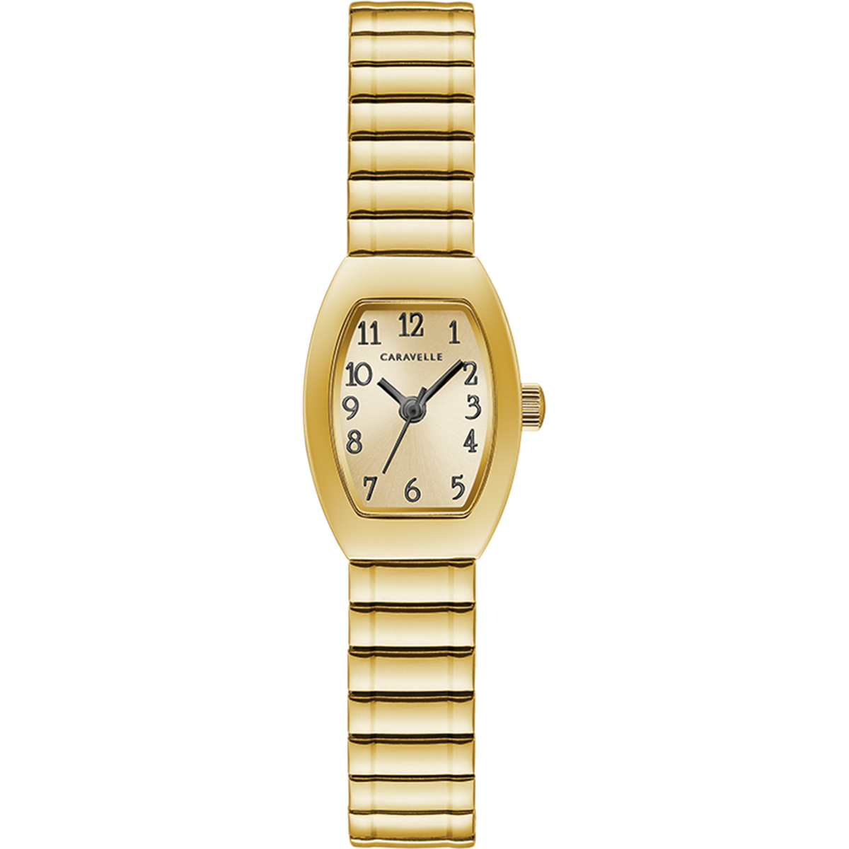 Caravelle Watch - Gold Tone Expansion