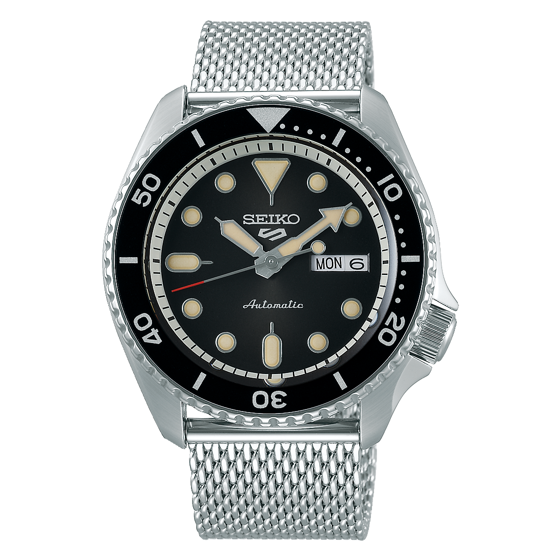 Seiko 5 Sport - Suits Series With Black Dial