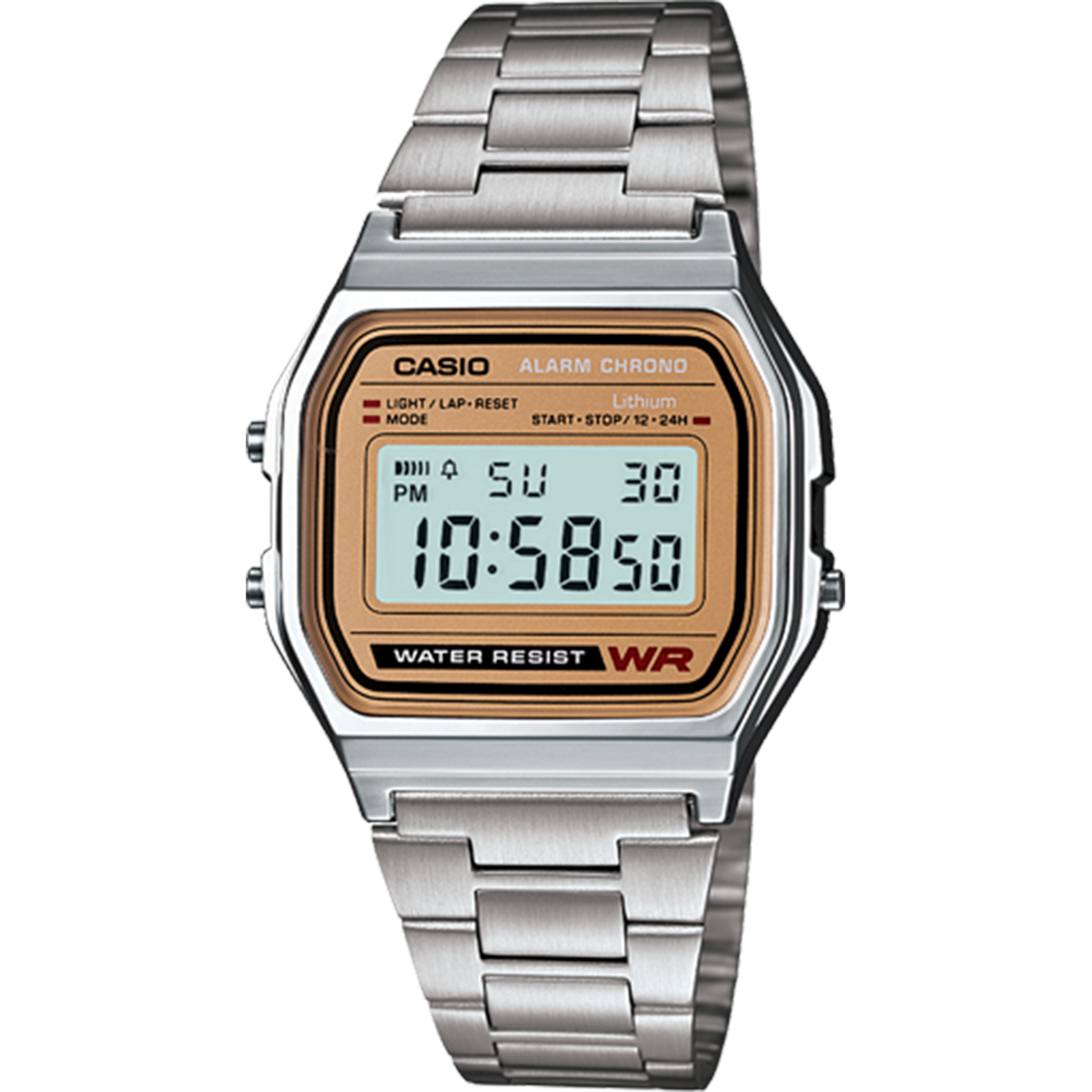 Casio Vintage Digital - Silver