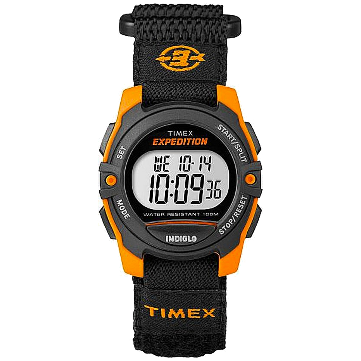 Timex - Expedition Digital 33mm Fabric Strap Watch
