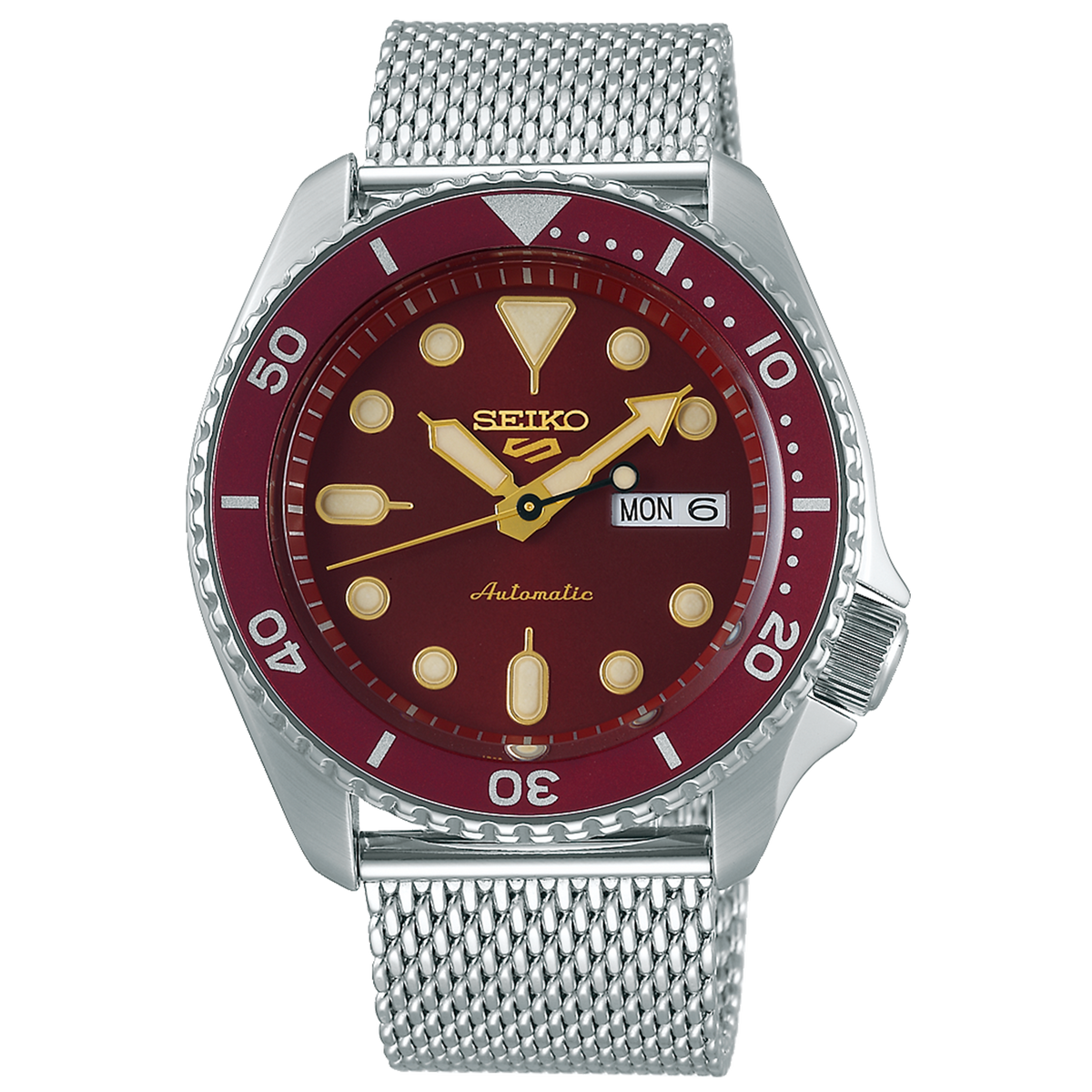 Seiko 5 Sport - Suits Series With Red Dial