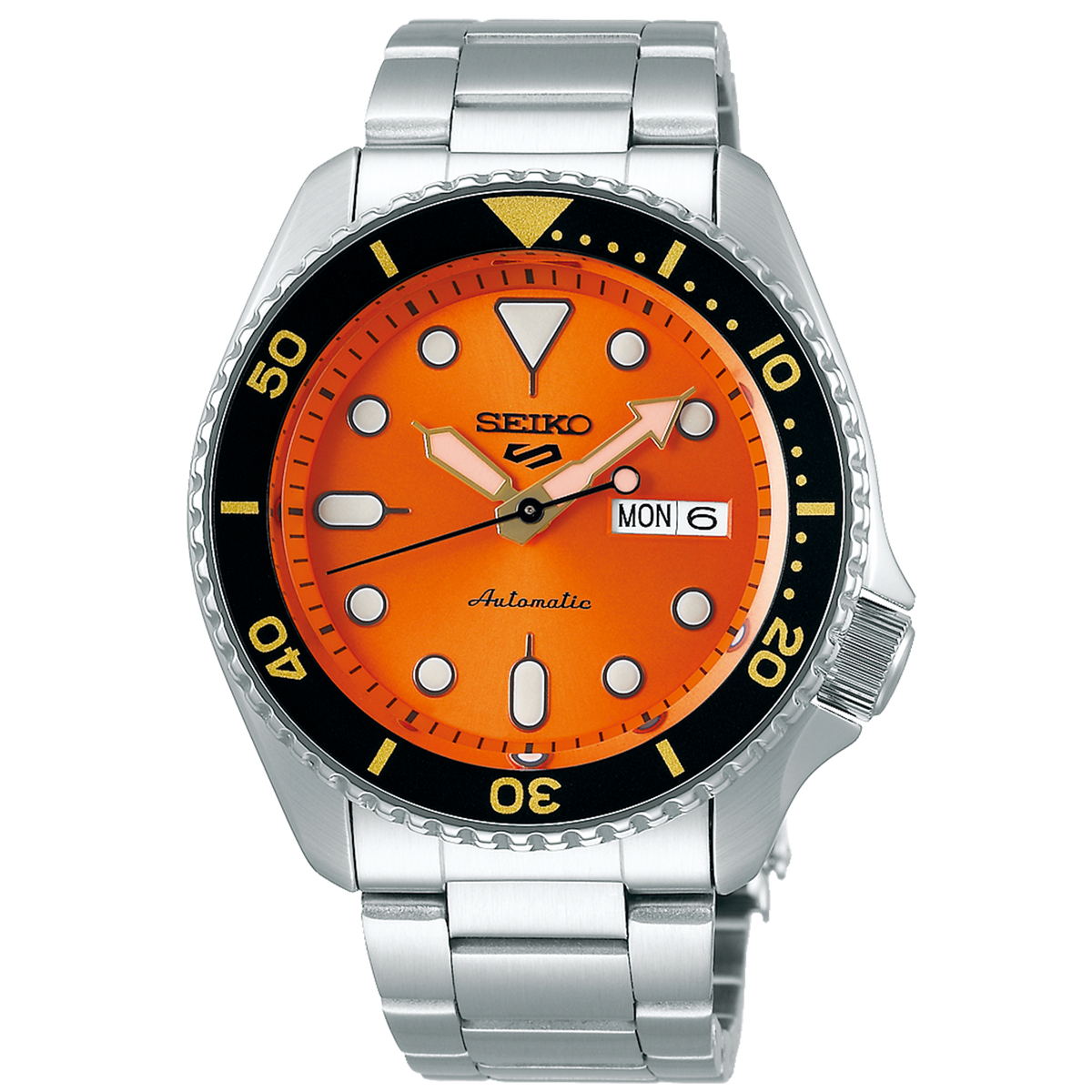 Seiko 5 Sport - Sport Series with Orange Dial