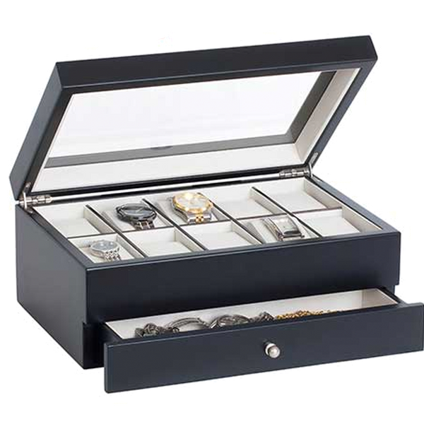 Gunther Mele- Louis - 10 WATCH GLASS Top  with Drawer