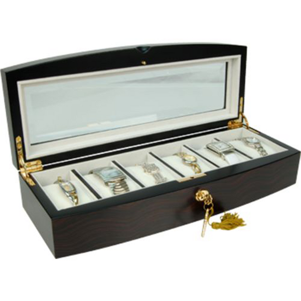 Madison Burke: Pheonix - Ebony 6 Watch Box