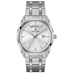 Bulova - Men's Classic Watch with Day/Date