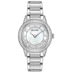 Bulova - Women's Crystal TurnStyle Watch