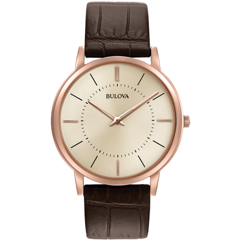 Bulova - Classic Collection in Rose Gold