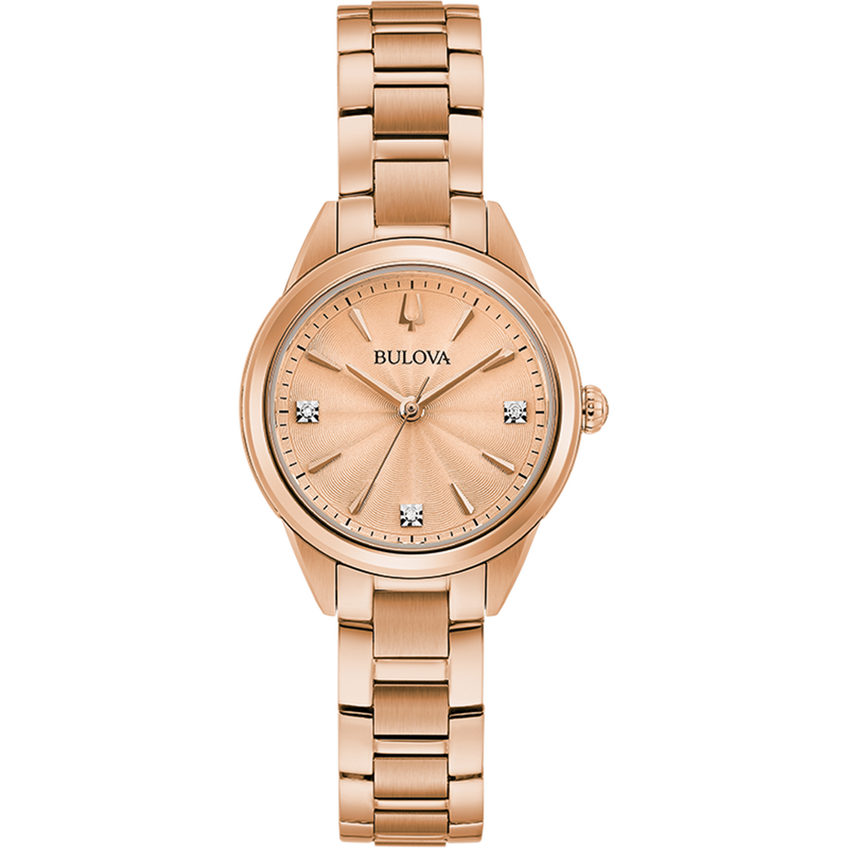 Bulova - Ladies Classic Collection - Rose Gold Tone