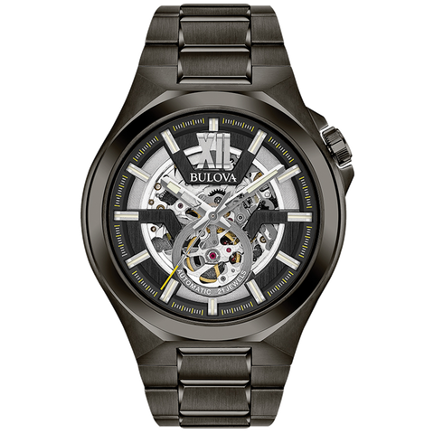 Bulova - Black Steel: Automatic Collection
