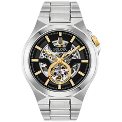 Bulova - Automatic Collection Steel with Gold Accents