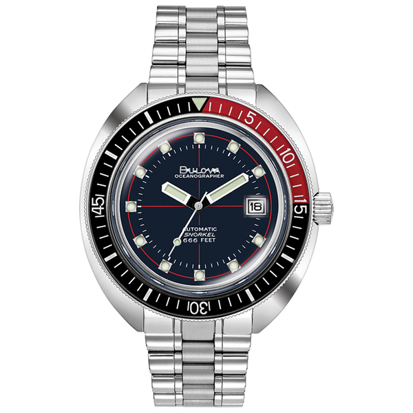 "Bulova - OCEANOGRAPHER ""DEVIL DIVER"" Black/Red ***PRE-ORDER***"